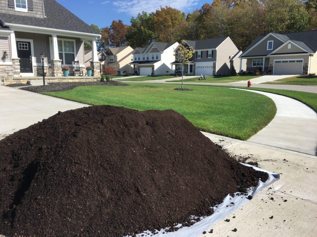 Amending Lawn Soil Urban Organics Ohio
